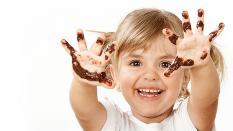 el chocolate y las caries